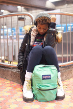 Look de métro: Jade, 18 ans. Étudiante.