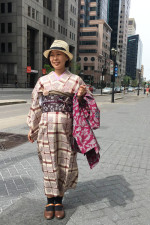 Look de métro: Yuki, 39 ans. Coiffeuse.