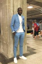 Look de métro: Olivier, 27 ans. Coiffeur.