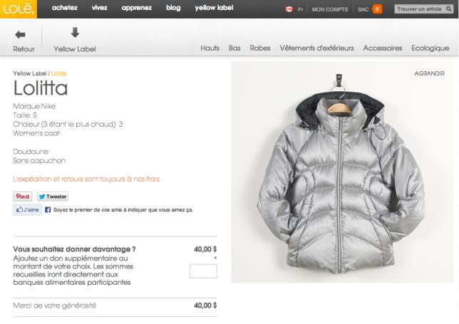 Doudoune-Nike-Silver