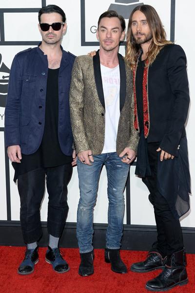Grammys-2014-Best-MostStylishTrio