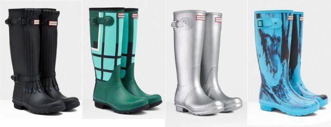 Hunter-rainboots