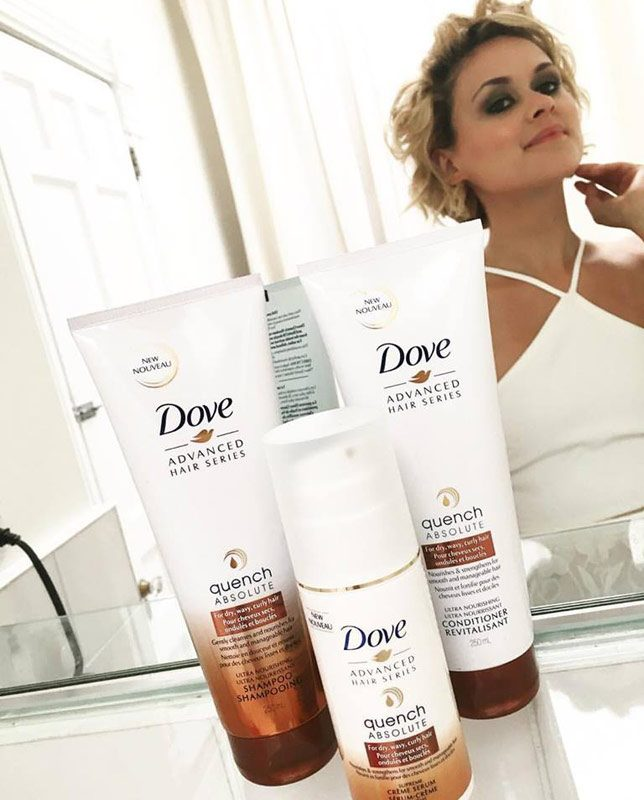 Dove-loveyourcurls-gettingready
