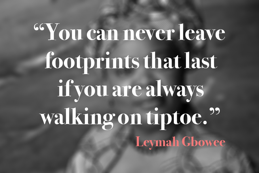 Leymah Gbowee Quote