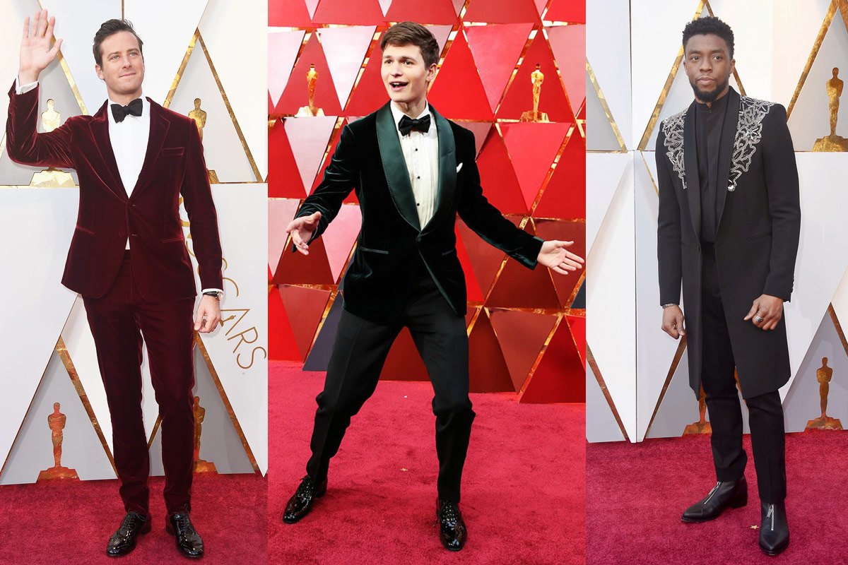 The Men At The 2018 Oscars Best Worst Fashion Is Everywhere